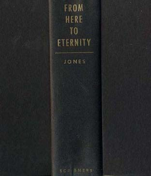 RARE 1951 1st Ed 'From Here To Eternity' James Jones - Historical Fiction / Pulitzer Prize / Military / Vintage