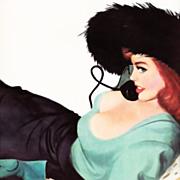 November 1950 Esquire Magazine 'Al Moore' Pin-Up Girl- Carol Channing, Ray Bradbury, Rodeo, Advertising, TV