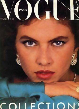 Vogue Magazine September 1980, Haute Couture, Paris, Fashion Designers, French, Models, Photography