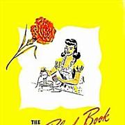 1940's Velvet Blend Cookbook 'Carnation Milk' RARE - Lithograph Illustrations, Advertising, Vintage