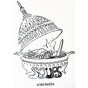 SIGNED Marny Clifford's Washington Cookbook, 1972 1st Ed, Entertaining, Military Wife, Washington Hostess