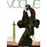 RARE 'Art of Vogue Covers' 1909-1940, DJ, Fashion, Art Deco, Vogue Magazine, Haute Couture, Photography, Costumes
