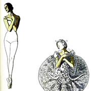 Tom Tierney, Pavlova & Nijinsky Paper Dolls, Uncut, Ballet, Costumes, 1985