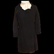 Early Sixties Little Black Dress M
