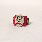SALE Vintage Collectible Premium Post Toasties Cereal Company Dagwood Litho Tin Ring 1949