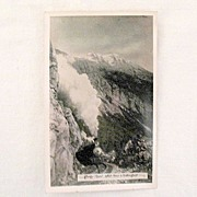 Vintage Collectible Unused Real Photo Post Card Showing Rocky Point, White Pass & Yukon Route 1930s