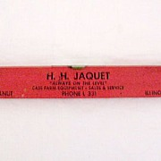 SALE Vintage Collectible Advertising Level For Case Farm Equipment by H.H. Jaquet of Walnut Il