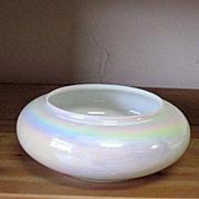 Vintage Hand Blown Opalescent/Iridescent Bowl/Vase 1960s Mint