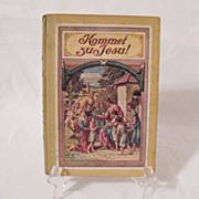 30% OFF Vintage German Book Kommet Zu Jesu Of Religious Tales 1920s Printed in Germany Print is German Very Good Condition