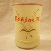 Vintage Heisey Custard Tumbler Early 1900s Excellent Condition