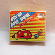 Vintage Tin Toy Lady Bug Family Parade by Blic 1970s Works Very Good Condition
