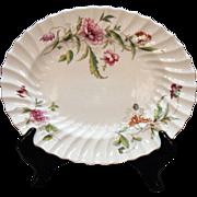 Vintage Royal Doulton Fine Bone China 11 inch Oval Platter Clovelly Pattern.