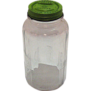 McLaughlin's Manor House Coffee Jar 1930-40s  Very Good Condition