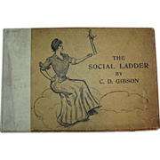 Antique Book the Social Ladder by C.D.Gibson 1902 Good Condition
