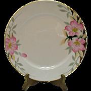 Vintage 8 Noritake Dinner Plates Azalea Pattern #19322 Very Good Condition