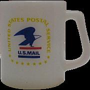SALE Vintage Federal U.S. Postal Cup 1960-70s Very Good Condition
