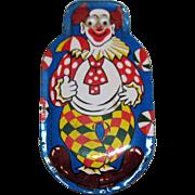 Vintage Clown Metal Clicker 1950s Works Good