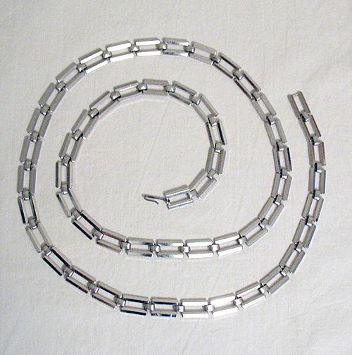 50% OFF~Unique Vintage Signed Napier Silver Link Belt~UNWORN
