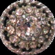 Rare Signed Sarah Coventry SA.C. Faux Diamond Ring