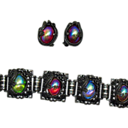 Judy Lee 'Queen Carol' 1960 Bracelet & Earrings Set
