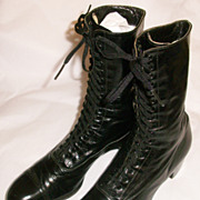 Victorian Boy's or Men's Lace-Up Boots