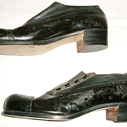 Men's Victorian Button Shoes