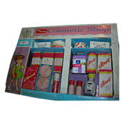 """Vintage 1957 My Merry """"Cosmetic Shop"""" Dolly Set - Complete"""