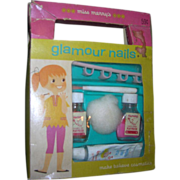 """Vintage 1962's My Merry """"Glamour Nails"""" Toy Dolly Set-Complete"""