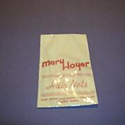 Vintage Rare 1950's Original Mary Hoyer Hair Nets MIP!