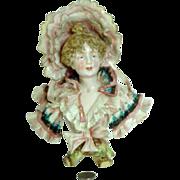 Extraordinary Royal Rudolstadt Lady Bust - The BEST! German Porcelain