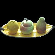 Carltonware Carlton Ware Figural Condiment Set on Banana Peel