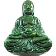 Jade Buddha Carved Figure