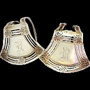 Two Webster Sterling Silver Napkin Holders