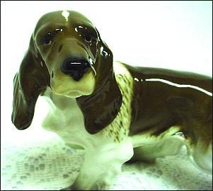 Hutschenreuther Fine Porcelain Springer Spaniel Dog Figurine