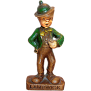 Multi Products Disney Handpainted Syroco Wood Composition Lampwick Character Figurine - Marked