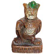 Multi Products Disney Handpainted Syroco Wood Composition Gideon Figurine - Marked