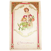 A Merry Christmas To You Postcard