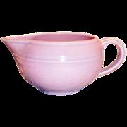 SALE Vernonware: Modern California Orchid Pink Stoneware Gravy Boat - Marked