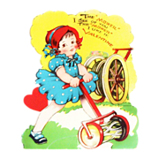 "The ""Mower"" I See Of You The ""Mower"" I Like It Mechanical Valentine"