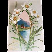 Best Easter Wishes 1909 Vintage Postcard