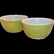 Pyrex Verde Granny Apple Green 1 1/2 Qt Bowl #402