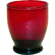 Anchor Hocking Royal Ruby Red Ftd Juice Glass