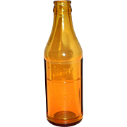 Owens Glass Co. One-Half Cup Amber Bottle