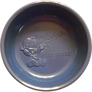 Vintage Advertising Libby's Baby Food Plastic Feeding Bowl