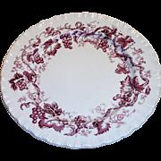 "Vintage Wedgewood ""Old Vine of Etruria"" Salad Plate"