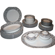 44 Piece Set Harmony House Valencia Dinnerware - FREE SHIPPING