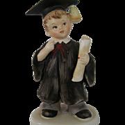 SALE Boy Graduate Figurine