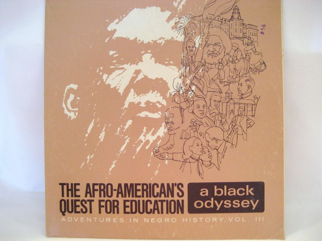 Adventures In Negro History, Vol. III - Record Album