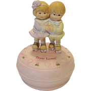 "Enesco ""True Love"" Music Box"