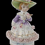 SALE Lovely Napco Lady Figurine